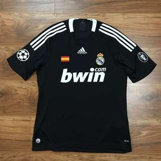 Original 2008 away adidas Real Madrid Jersey UCL champions league uefa