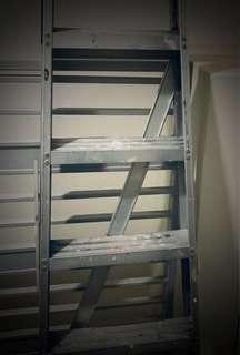 Durable Aluminium Step Ladder (top-up $30 if delivery is needed)