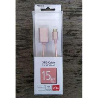 Kabel OTG Miniso for Android