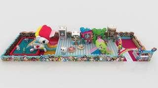 Entry to Changi Airport World of Tokidoki Inflatable Playground Activity Pass Ticket Tickets 2 persons