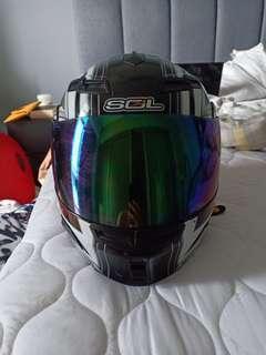 SOL Design helmet
