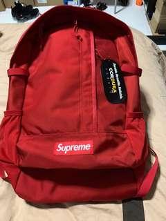 SS18 Supreme Backpack