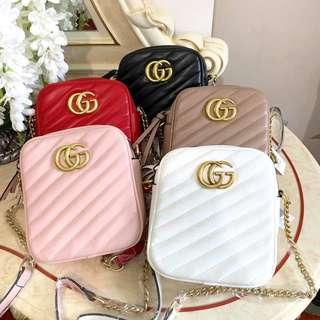 Gucci Double Zipper Bag