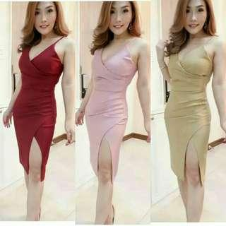 midi dress adele dress pesta polos dress sabrina dress tanktop party dress perform