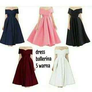 midi dress sabrina dress pesta polos dress scuba polos dress kondangan dress photoshoot dress perform