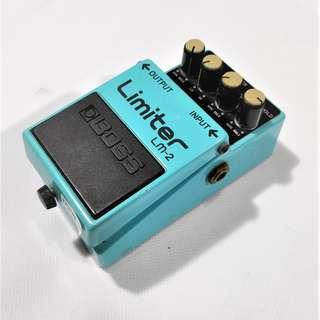 BOSS Limiter LM-2 Made in Japan Electric Bass Guitar Effects Pedal