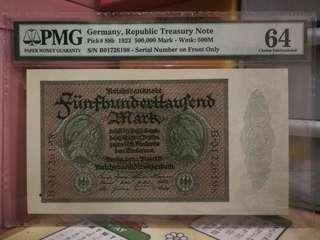 德國1923年50000馬克,UNC