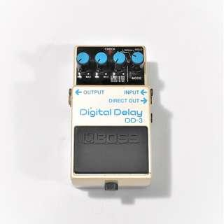 BOSS Digital Delay DD-3 Made in Japan Electric Guitar Effects Pedal