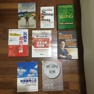 Sales Books English Chinese Selling Psychology