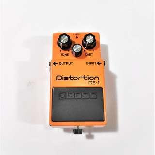 BOSS Distortion DS-1 Made in Japan Electric Guitar Effects Pedal
