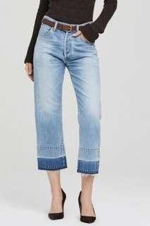 Citizens of Humanity Cora Crop Jeans High Rise Size 27