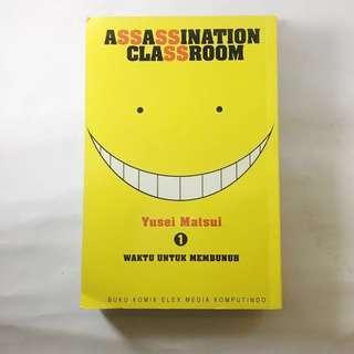 [Komik] Assassination Classrom Vol. 1 - 15