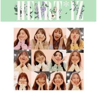 IZ*ONE (2nd Mini Album)「HEART*IZ」[Import Disc]PREORDER Regular~Kihno Kit Limited AKB48 HKT48
