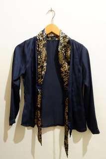 Black outer Batik