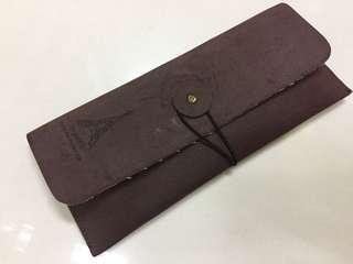 文青旅行筆袋。