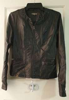 Leather Jacket size 8 Brand New