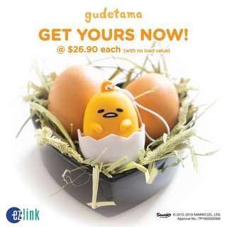 Gudetama Ez-link Charm Token