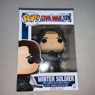 🚚 funko pop bucky barnes / the winter soldier