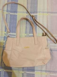Secosana Cream Colored Shoulder Bag