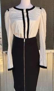 Mango Office blouse