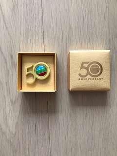 Tvb Tvbuddy 50周年紀念章