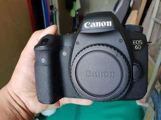 🚚 Canon eos 6d ( body only )+acc box