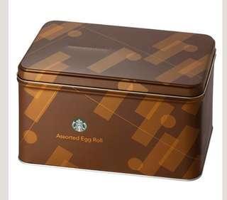 🚚 Starbucks gift box, Assorted Egg Roll