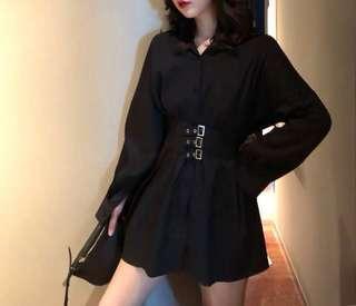 🔥 BRAND NEW $15 Buckle waist shirt dress