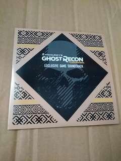 (平售$38)+包平郵(不另再折) Ghost Recon ost 日版cd (可payme/滙豐/中銀)