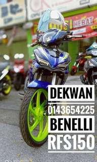 Benelli RFS150 Apply ic & Slip Gaji 1 Bulan