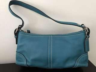 Coach Turquoise shoulder bag