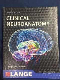 Clinical Neuroanatomy - Stephen G. Waxman 27th edition LANGE