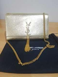 Preloved YSL Classic Medium Tassel Chain Bag