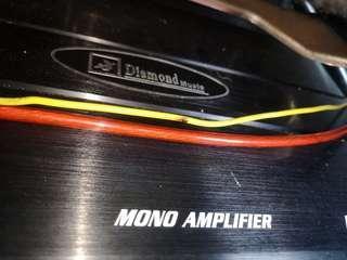 Mono block +  12' woofer