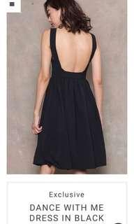 Young Hungry Free Exclusive Dance With Me Dress (Black in S)