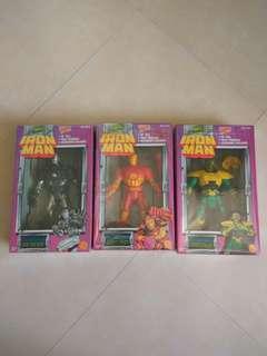 Iron man , War Machine , Mandarin figure Set
