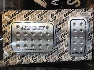 Car pedal aluminum!!