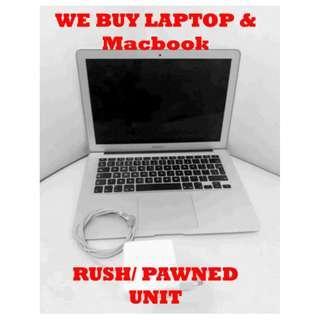 We Buy Used Laptop or Macbook