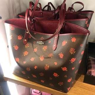 Preorder Coach Reversible Tote