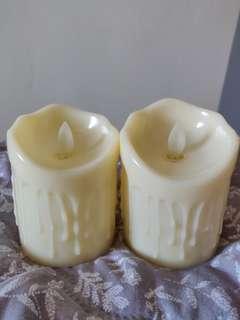 Swing LED candle 9cm