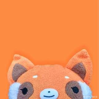 A5 - FumoFumo-San by Shinada - Orange Raccoon (Resoreso) (Large size)