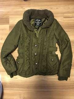 日本軍綠色外套 夾綿 暖 修身 Japan Jacket
