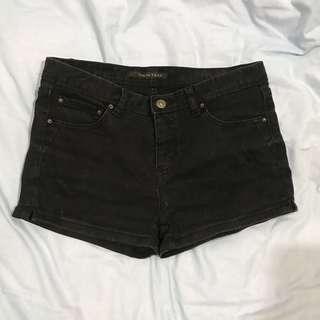 🚚 高腰黑短褲