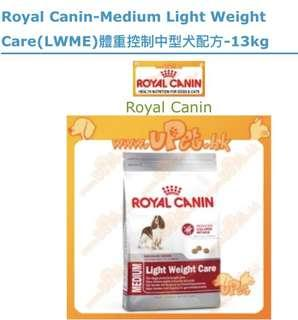 Royal Canin Medium Light Weight Care狗糧