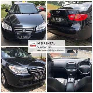 Car Rental/Grab Car