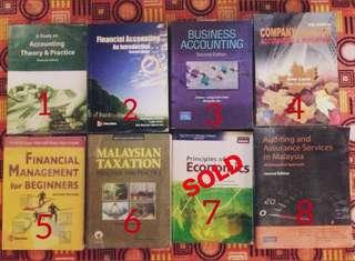 Accounting & Management Books