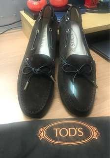 Tods 深棕休閒豆豆鞋,全新女版38號,39號也可穿