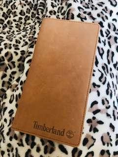 Timberland Leather Passport Holder