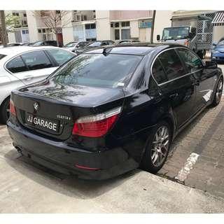 CAR RENTAL #BMW #5 SERIES #Z10/11