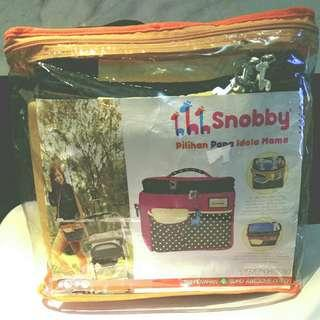 Cooler Bag / Tas Penahan Suhu Snobby Awesome Dotty TPT 1473